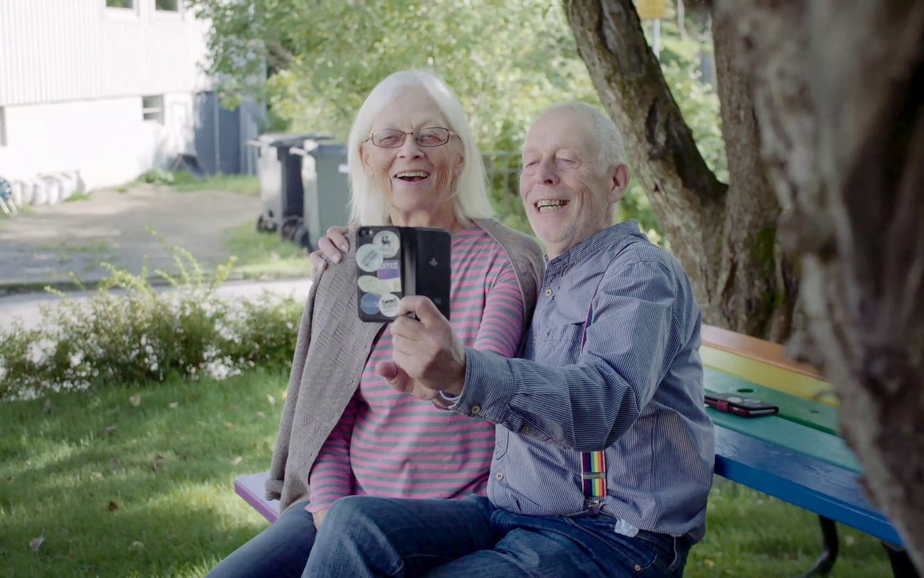 World Smile Day - Par ler för Selfie